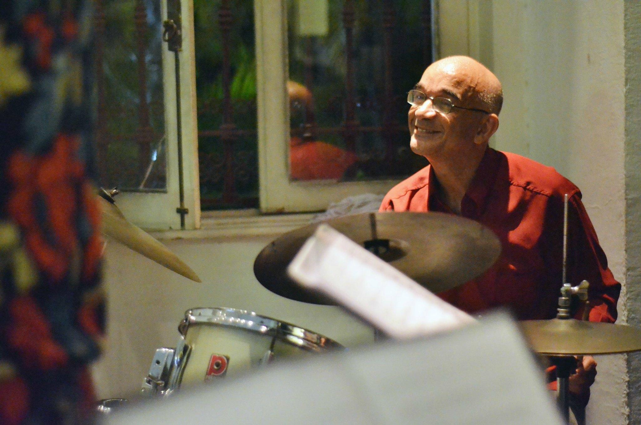Fernando Pereira durante apresentação no evento Jazz na Candelária Foto: Alexandre Horta / coisasdamusica