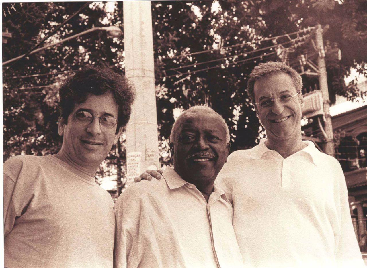 Mario Adnet, Moacir Santos e Zé Nogueira Foto: Marcílio Godoy