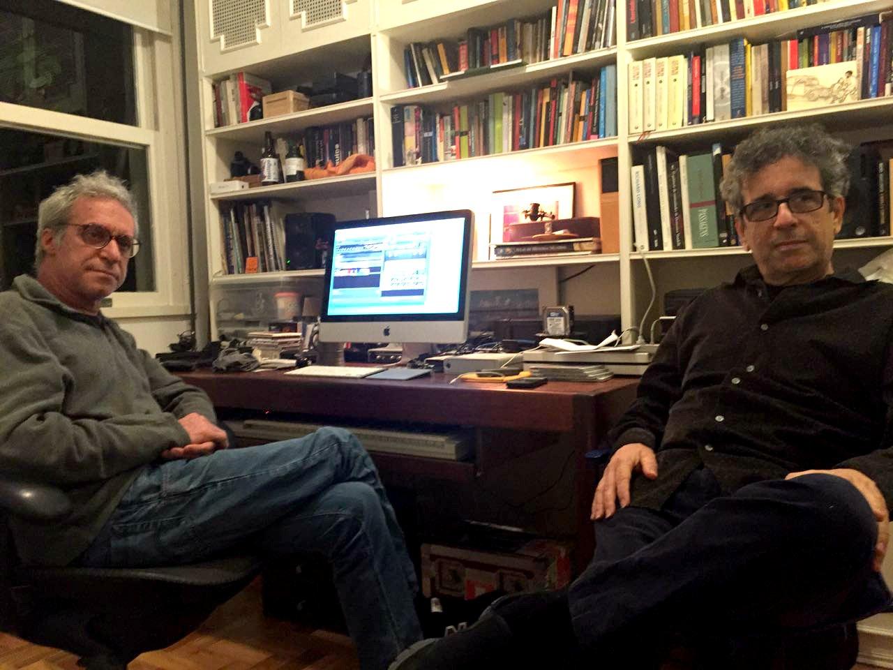Zé Nogueira e Mario Adnet: o trabalho pelo legado de Moacir Santos Foto: Beatriz Cruz/coisasdamusica